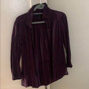 Purple detailed Marc by Marc Jacobs blouse